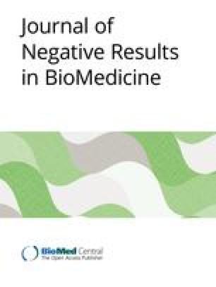 Journal of Negative Results in BioMedicine