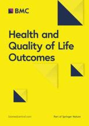 Health and Quality of Life Outcomes