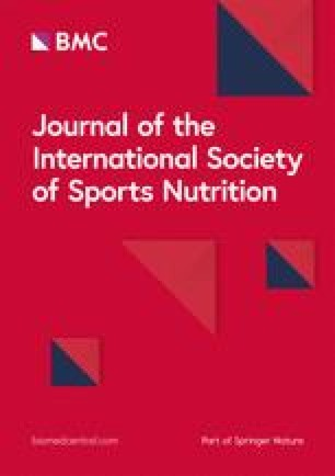 Journal of the International Society of Sports Nutrition