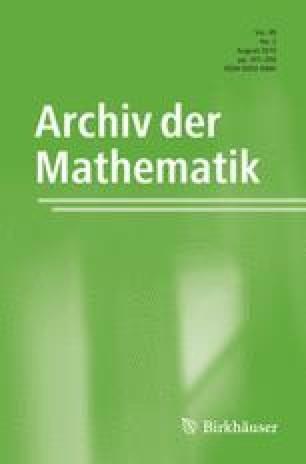 Archiv der Mathematik