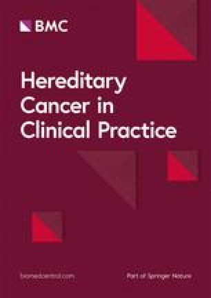 Hereditary Cancer in Clinical Practice