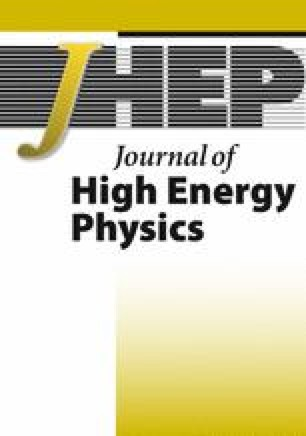 Journal of High Energy Physics