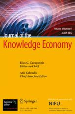 Journal of the Knowledge Economy