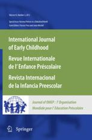 Language, culture, and early childhood education in