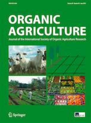 Converting to organic farming as a way to enhance adaptive capacity