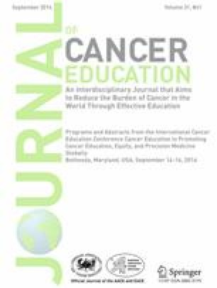 International Cancer Education Conference 2016 Program and Abstracts