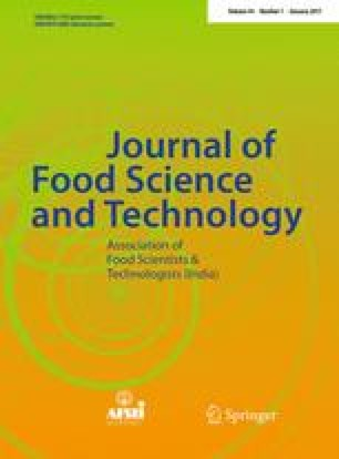 Journal of Food Science and Technology - Springer