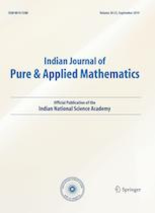 Indian Journal of Pure and Applied Mathematics - Springer