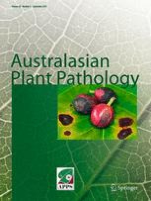 Australasian Plant Pathology - Springer