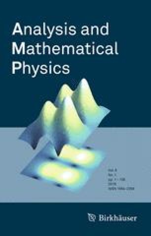 Analysis and Mathematical Physics - Springer