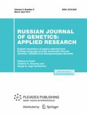 Russian Journal of Genetics: Applied Research