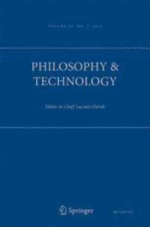 Philosophy & Technology