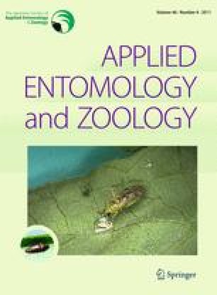 Applied Entomology and Zoology