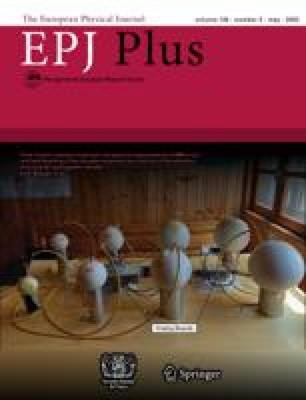 The European Physical Journal Plus