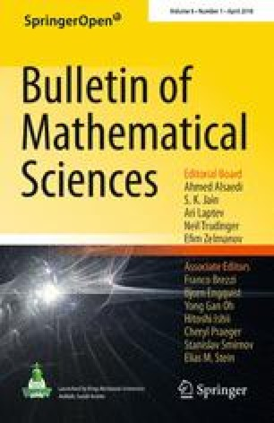 Bulletin of Mathematical Sciences