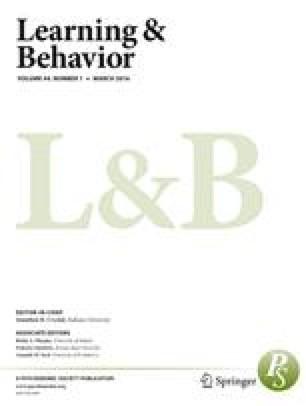 passive avoidance learning