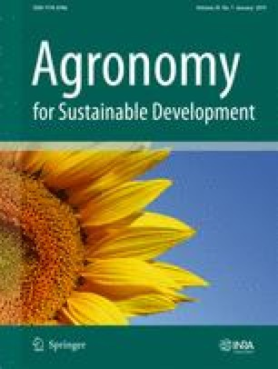 Agronomy for Sustainable Development