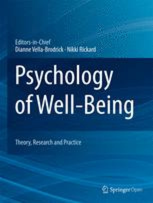 Psychology of Well-Being: Theory, Research and Practice
