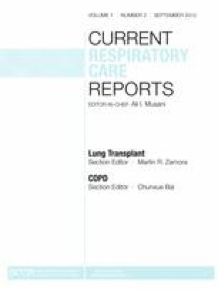 Current Respiratory Care Reports