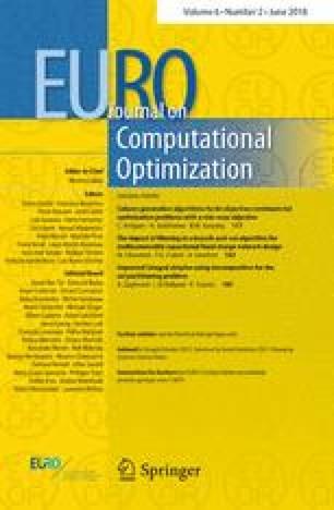 EURO Journal on Computational Optimization