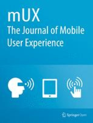 mUX: The Journal of Mobile User Experience