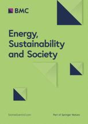 Energy, Sustainability and Society