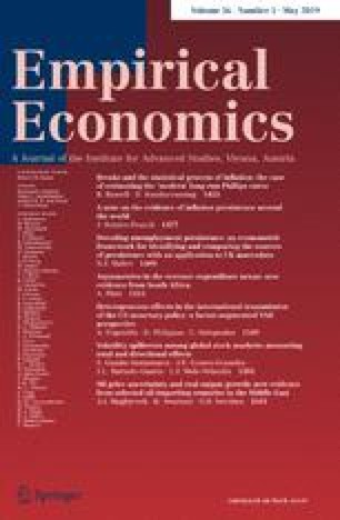 Empirical Economics