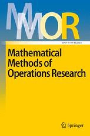 Zeitschrift für Operations Research