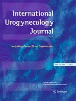 International Urogynecology Journal