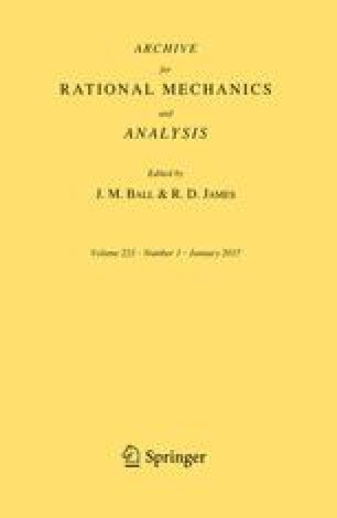 Archive for Rational Mechanics and Analysis