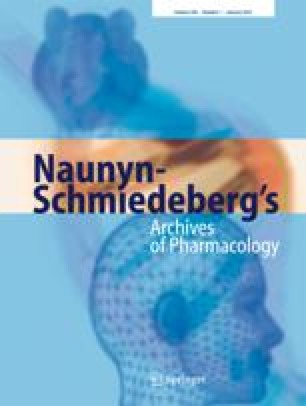 Naunyn-Schmiedeberg's Archives of Pharmacology