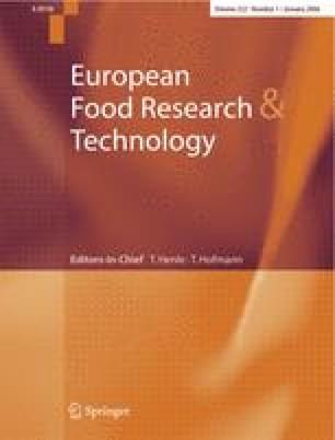 Zeitschrift für Lebensmittel-Untersuchung und Forschung
