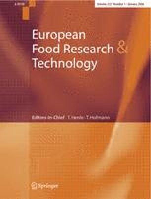 European Food Research And Technology Home