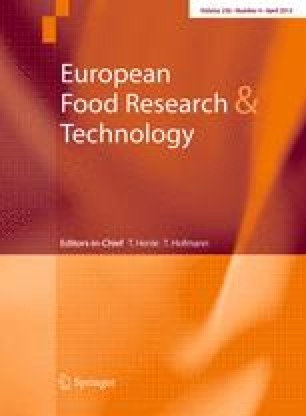 European Food Research and Technology - Springer