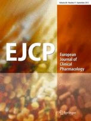 European Journal of Clinical Pharmacology - Springer