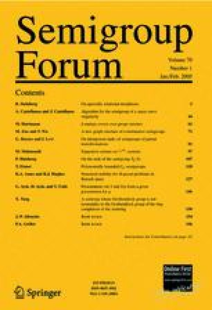 Semigroup Forum