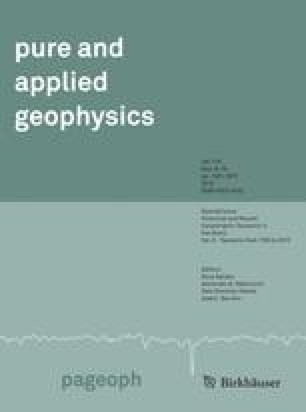 Pure and Applied Geophysics PAGEOPH