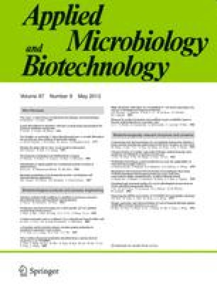 European journal of applied microbiology and biotechnology