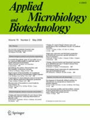 Applied Microbiology and Biotechnology - Springer