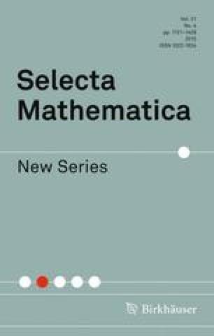 Selecta Mathematica - Springer