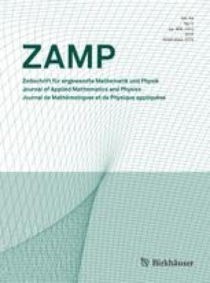 Zeitschrift für angewandte Mathematik und Physik ZAMP
