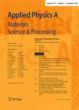Applied Physics A - Springer