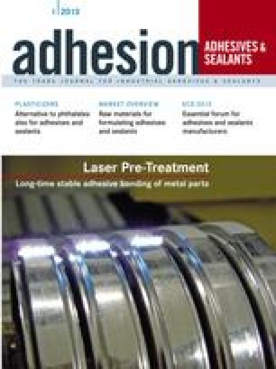 ADHESION ADHESIVES&SEALANTS