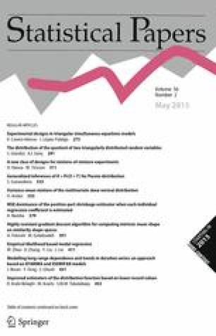Statistical Papers - Springer