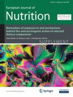 Nutrition News: european journal of nutrition impact factor 2017