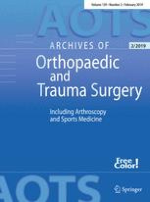 Archives of orthopaedic and traumatic surgery