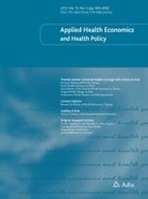 Applied Health Economics and Health Policy