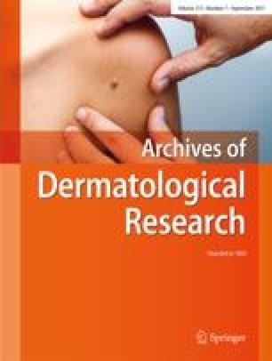 Archiv für klinische und experimentelle Dermatologie