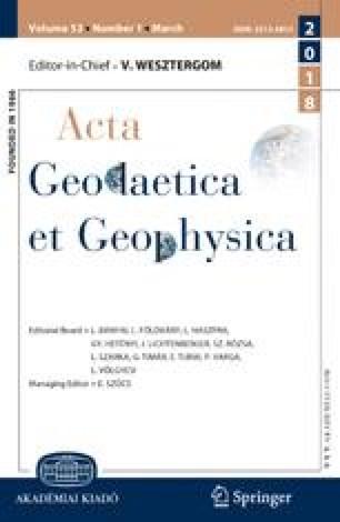 Acta Geodaetica et Geophysica Hungarica