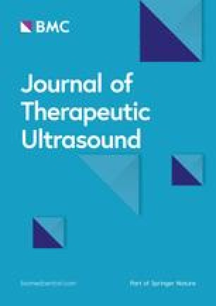 Journal of Therapeutic Ultrasound